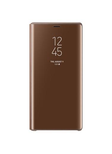 Samsung Samsung Note 9 Uyumlu Clear View Standing Telefon Kılıfı Renkli